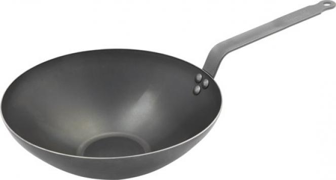debuyer plaatstalen wok