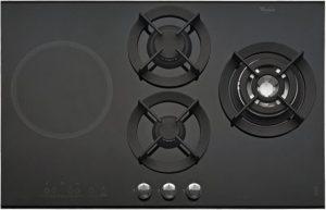 Whirlpool combi kookplaat met wokbrander